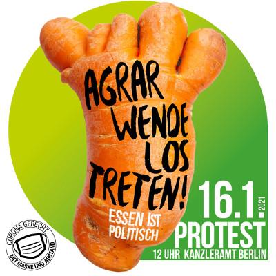 Demo für gutes Essen & gute Landwirtschaft: Wir haben es satt!